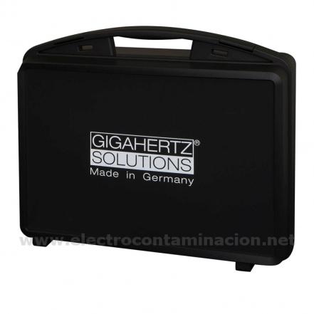Gigahertz-Solutions, M4, Maletín acolchado para cuatro medidores
