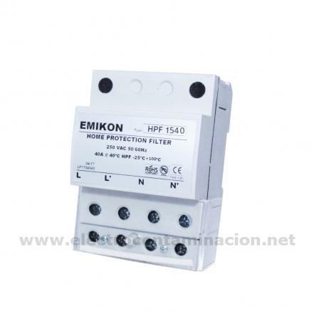 Emikon HPF 1540, Filtro de electricidad sucia, Dirtypower