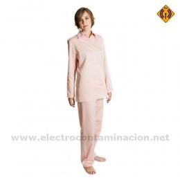 TPIM Pijama apantallado para campos electromagnéticos electrocontaminación electrosensibilidad