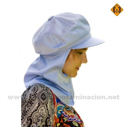 DEVORA gorra de tela apantallante de alta frecuencia electrocontaminación
