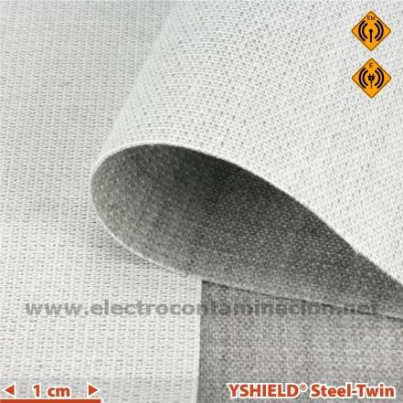 Tela antiradiaciones electromagnéticas YSHIELD Steel-Twin