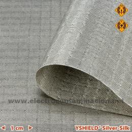 Tela antiradiaciones electromagnéticas YSHIELD Silver-Silk