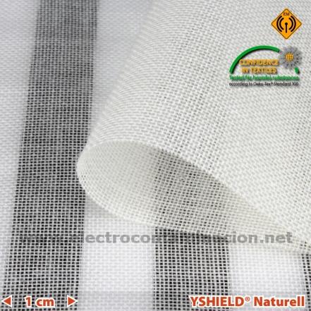 Cortina apantallante antiradiaciones de algodón ecológico, YSHIELD NATURELL