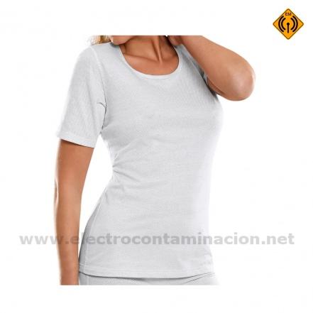 TTBM camiseta apantallante de campos electromagneticos electrocontaminación electrosensibilidad