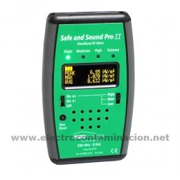 Safe & Sound Pro 2 - Medidor de ondas electromagnéticas