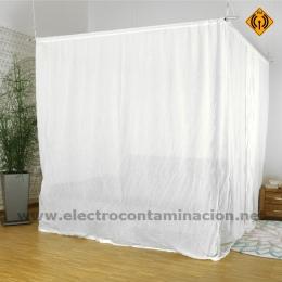Baldaquín cama doble B2-NATURELL, proteccion radiaciones electromagnéticas