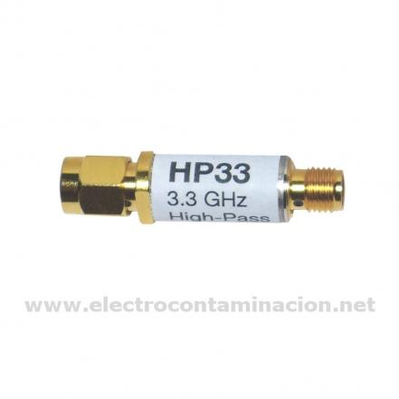 Gigahertz-Solutions, HP33 filtro de frecuencias pase alto