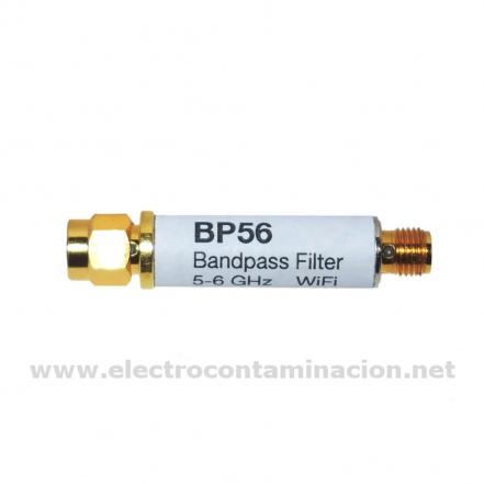 Gigahertz-Solutions, BP56 filtro de frecuencias WIFI