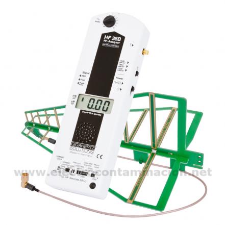 Medidor de campos electromagnéticos alta frecuencia - HF38B