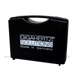 Maletín acolchado para dos medidores Gigahertz-Solutions M2