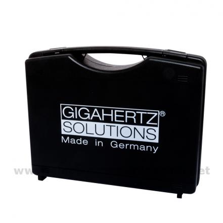 Gigahertz-Solutions, M2, Maletín acolchado para dos medidores