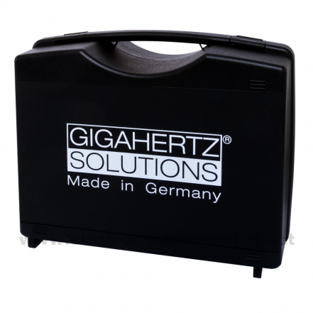 Gigahertz-Solutions, M3, Maletín acolchado para tres medidores