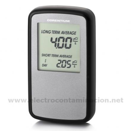 Medidor de gas rad n canary electrocontaminaci n for Medicion de gas radon