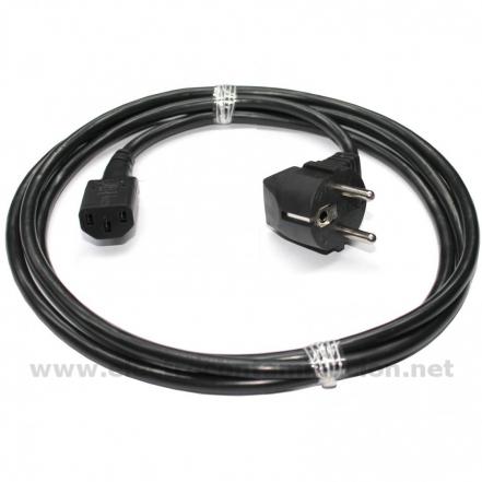 Danell D-2806, Cable apantallado Schuko