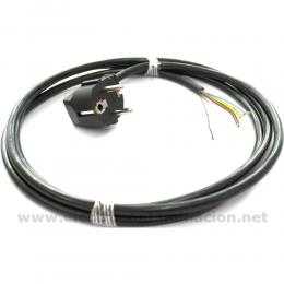 Cable apantallado Schuko Danell D-2828
