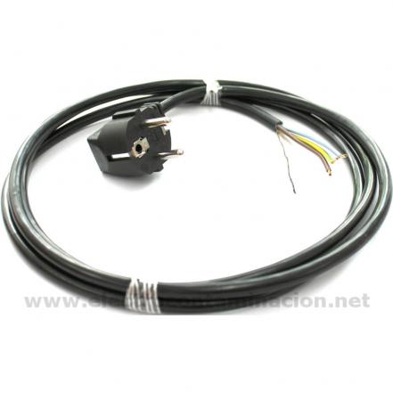 Danell D-2828, Cable apantallado Schuko