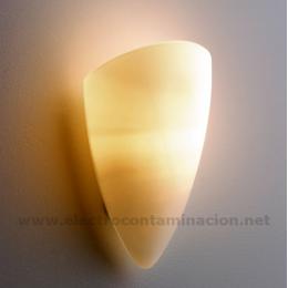 LP-Opal-Oval Lampara de pared